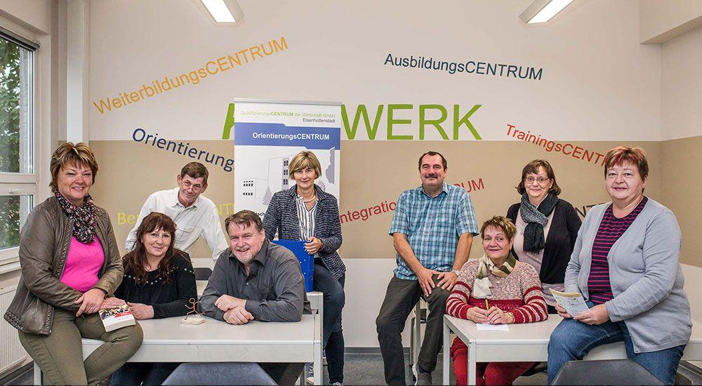 QCW Orientierungscenter Team
